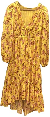 Ulla Johnson Yellow Cotton - elasthane Dresses