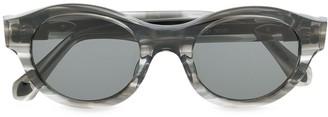Matsuda Oval Frame Sunglasses