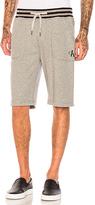 Calvin Klein Reissue Tipping Waistband Shorts in Gray