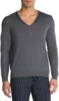 The Kooples Wool V-Neck Sweater