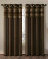 "Victoria Classics Wakefield Lined Faux Silk 60"" x 96"" Grommet Panel"
