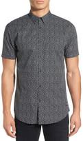 Zanerobe Short Sleeve Print Woven Shirt