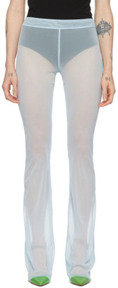 Supriya Lele Blue Mesh Trousers