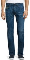 Etro Five-Pocket Slim-Fit Denim Jeans, Medium Blue