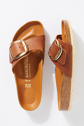 Birkenstock Madrid Big Buckle Sandals By in Brown Size 36