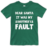Urban Smalls Green 'Brother's Fault' Tee - Toddler & Boys