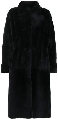 Liska Reversible Shearling Overcoat