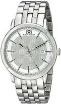 88 Rue du Rhone Men's 87WA130016 Analog Display Swiss Quartz Silver Watch