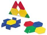 Learning Resources 0.5 cm Plastic Pattern Blocks, Set of 100