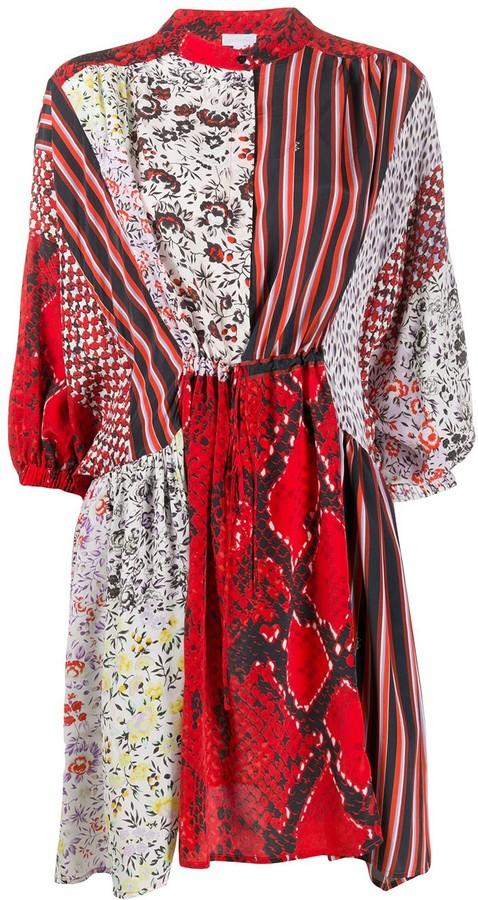 Lala Berlin Patchwork Shift Dress