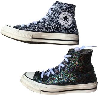 Converse X J.w Anderson Black Glitter Trainers