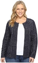 Lucky Brand Plus Size Jacquard Sweater