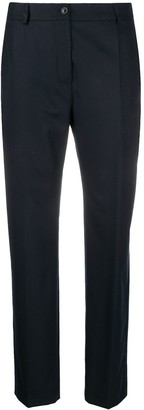 Agnona Mid-Rise Straight-Leg Trousers