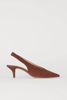 H&M Slingbacks with pointed toes