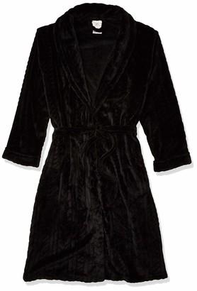 "Casual Moments Women's 45"" Shawl Collar Wrap Robe"