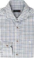 Corneliani Slim-fit Checked Cotton Shirt