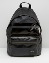 Diesel Iron Backpack with Leather Detail