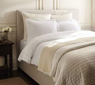 Pottery Barn Raleigh Square Tall Storage Bed