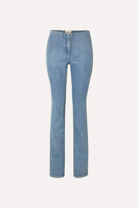 The Row Laban Mid-rise Straight-leg Jeans - Blue