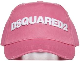 DSQUARED2 Logo Embroidered Baseball Hat