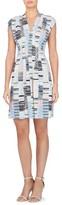 Women's Catherine Catherine Malandrino Tinka Print Jersey Fit & Flare Dress