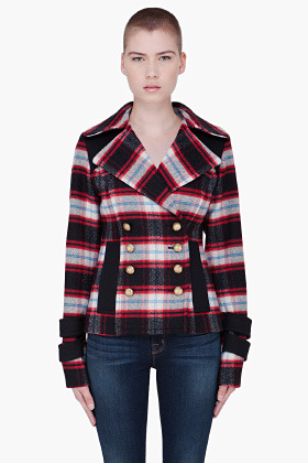 Smythe Red Double Breasted Jacket