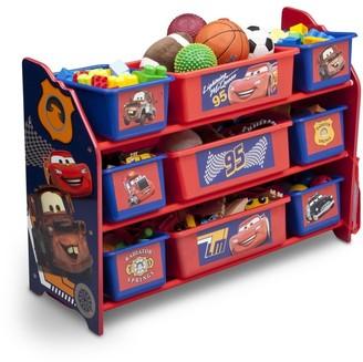 Delta Children Disney/Pixar Cars 9 Bin Plastic Toy Organizer