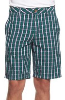 Tailor Vintage Men's Seersucker Check Shorts