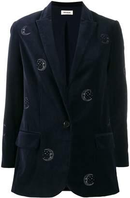 Zadig & Voltaire Zadig&Voltaire Viva embroidered blazer