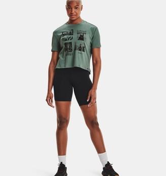 Under Armour Women's UA x DVNLLN Graphic Crop T-Shirt