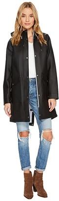 Levi's Fishtail Two-Pocket Parka (Black) Women's Coat
