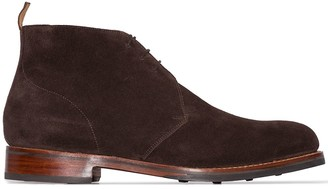 Grenson Wendell suede boots