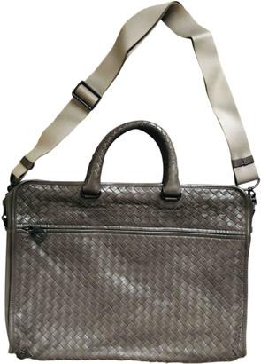 Bottega Veneta Anthracite Leather Bags