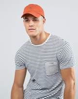 Polo Ralph Lauren Player Baseball Cap In Orange