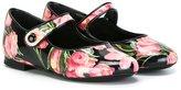 Dolce & Gabbana tulip print ballerinas