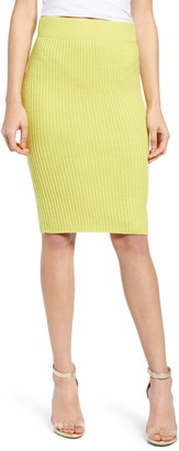 Endless Rose Knit Pencil Skirt