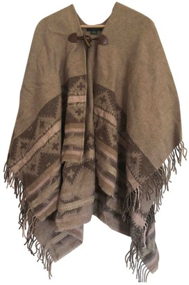Lauren Ralph Lauren Beige Wool Coat for Women