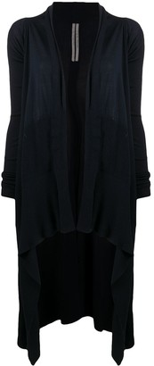 Rick Owens Long-Length Knitted Cardigan
