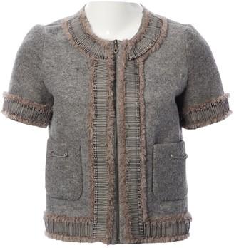 Giles Grey Wool Jackets