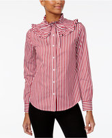 Love Moschino Ruffled Shirt