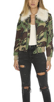 Rag & Bone Camo Flight Jacket