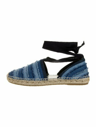Jimmy Choo Printed Espadrilles Blue