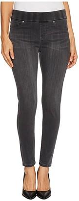 Liverpool Petite Sienna Pull-On Ankle in Silky Soft Denim in Meteorite Wash (Meteorite Wash) Women's Jeans