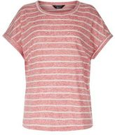 New Look Teens Red Stripe T-Shirt