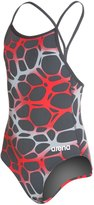 Arena Polycarbonite Girls Drop Back One Piece Swimsuit 8124327