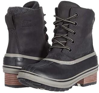 Sorel Slimpack III Lace (Black) Women's Boots