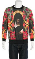 Givenchy Patchwork Print Zip Sweatshirt