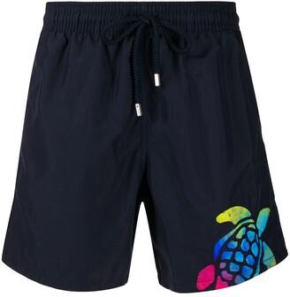 Vilebrequin Holi Party-print swim shorts