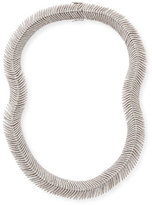 SUTRA Diamond Feather Necklace