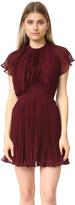 Keepsake Come Back Pleated Mini Dress